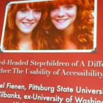 HEWEB11 - Twin Red-Headed Stepchildren Of A Different Mother: The Usability of Accessibility (TNT7)