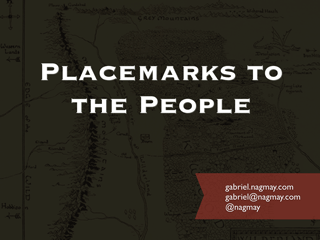 Placemarks to the People Slides