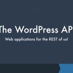 The WordPress API (WRK7)